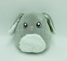 "Squishmallows Blake Bunny Gray White 8"" Easter Stuffed Animal Kellytoy NWT - $29.99"