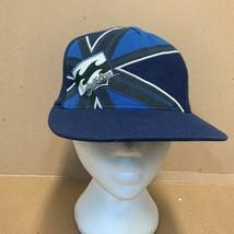 Blue Billabong Flexfit Baseball Trucker Hat Cap - $9.66
