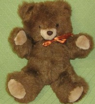 "16"" 1985 Commonwealth TEDDY BEAR Brown Plush Stuffed Animal Toy Vintage ... - $29.70"
