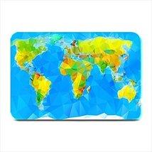 World Map Mosaic Plate Place Mat - $17.00