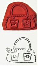 Unmounted Rubber Stamp of a Purse