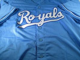 BO JACKSON / AUTOGRAPHED KANSAS CITY ROYALS BLUE CUSTOM BASEBALL JERSEY / COA image 2