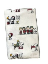 Berkshire P EAN Uts White Holiday Christmas Plush Throw Blanket Around 50x70 - $18.70