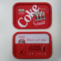 Coca-Cola Tin Trays (Pair of 2) - BRAND NEW - $10.88