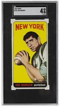 Joe Namath 1965 Topps #122 New York Jets Football Card SGC VG-EX 4 - $7,821.00