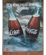 Vintage It's The Real Thing Coke Bottles Print Magazine Advertisement 1971 - $5.99