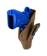 New Barsony Brown Leather Tuckable IWB Holster for Full Size 9mm 40 45 P... - $32.99