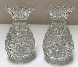 Shannon Crystal Pineapple Candle Holders Godinger Hospitality Collection - $39.59