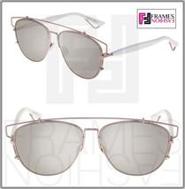 CHRISTIAN DIOR TECHNOLOGIC White Lilac Flash Mirrored Sunglasses DIORTEC... - $316.80