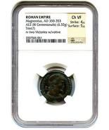AD 350-353 Magnentius AE2 (BI Centenionalis) NGC VF (Ancient Roman) - £221.33 GBP
