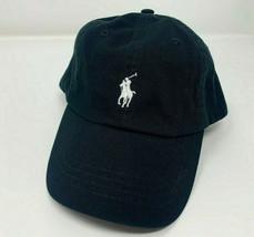 NEW! Ralph Lauren POLO Mens Classic Sport Adjustable Cap-Black/White - $56.32