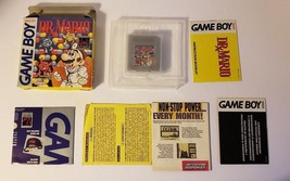 Dr Mario Nintendo Game Boy 1990 Video Game CIB Complete - $35.59