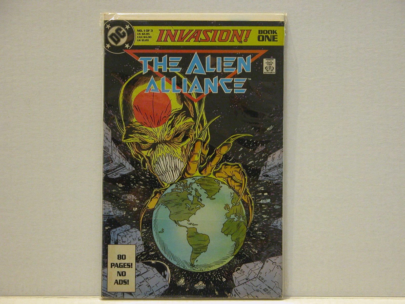 INVASION #1 - DC COMICS EVENT - FREE SHIPPING