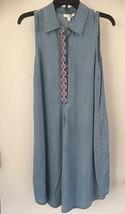 Spense , sleeveless, knee length, Denim Color dress, size 4, NWT - $21.96