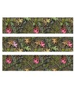 Mossy Oak with Pink Leaves Camo Edible Cake Strips - Cake Wraps - $8.98+