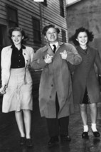 Judy Garland and Mickey Rooney Classic Candid Smiling arm in arm 1940's ... - $23.99
