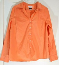 Womens KIM ROGERS Button Down LS SHIRT EASY CARE Ladies Blouse M Top Lon... - $24.95