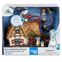 Disney Animatori' Collezione Biancaneve Micro Bambola Playset Play Set N... - $34.49