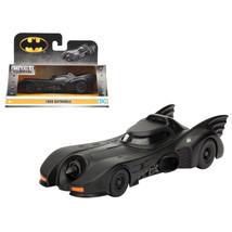 1989 Batman Batmobile 1/32 Diecast Model Car by Jada 98226 - $19.56
