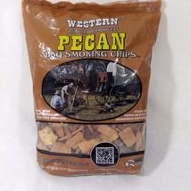 1 Bag 2.94L Western Pecan Wood BBQ Smoking Chips (180 CU IN) BBQr's Delight - $14.95