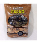 1 Bag 2.94L Western Pecan Wood BBQ Smoking Chips (180 CU IN) BBQr's Delight - $14.95