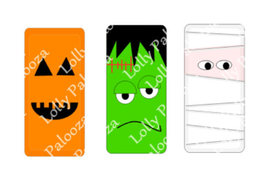 Spooky Domino Images DIGITAL File.  Instant Download.  PNG & SVG files.  No Phys image 3