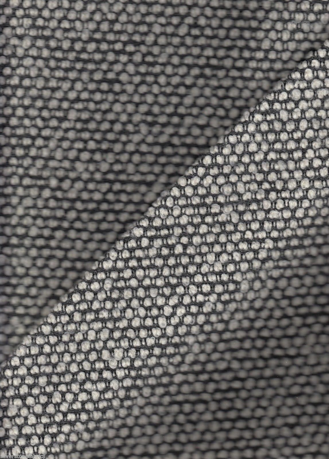 Bernhardt Upholstery Fabric Muse Nubby Wool Charcoal Grey MCM 1 yd 3454-001 S10