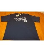 NEW YORK YANKEES SCORING MACHINE MLB BASEBALL T-Shirt LARGE NEW - $18.32
