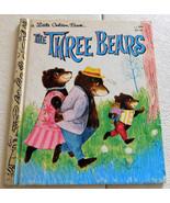 A Little Golden Book The Three Bears - £3.59 GBP