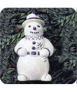 Hallmark Keepsake Holiday Favorites Collection Dapper Snowman QK105-3 1994 - $1.78