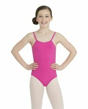 Capezio Girls Camisole Leotard with Adjustable Straps (TB1420C) Med - $14.30