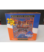 BOISE STATE FOOTBALL 500-Piece Jigsaw Puzzle Do... - $9.00