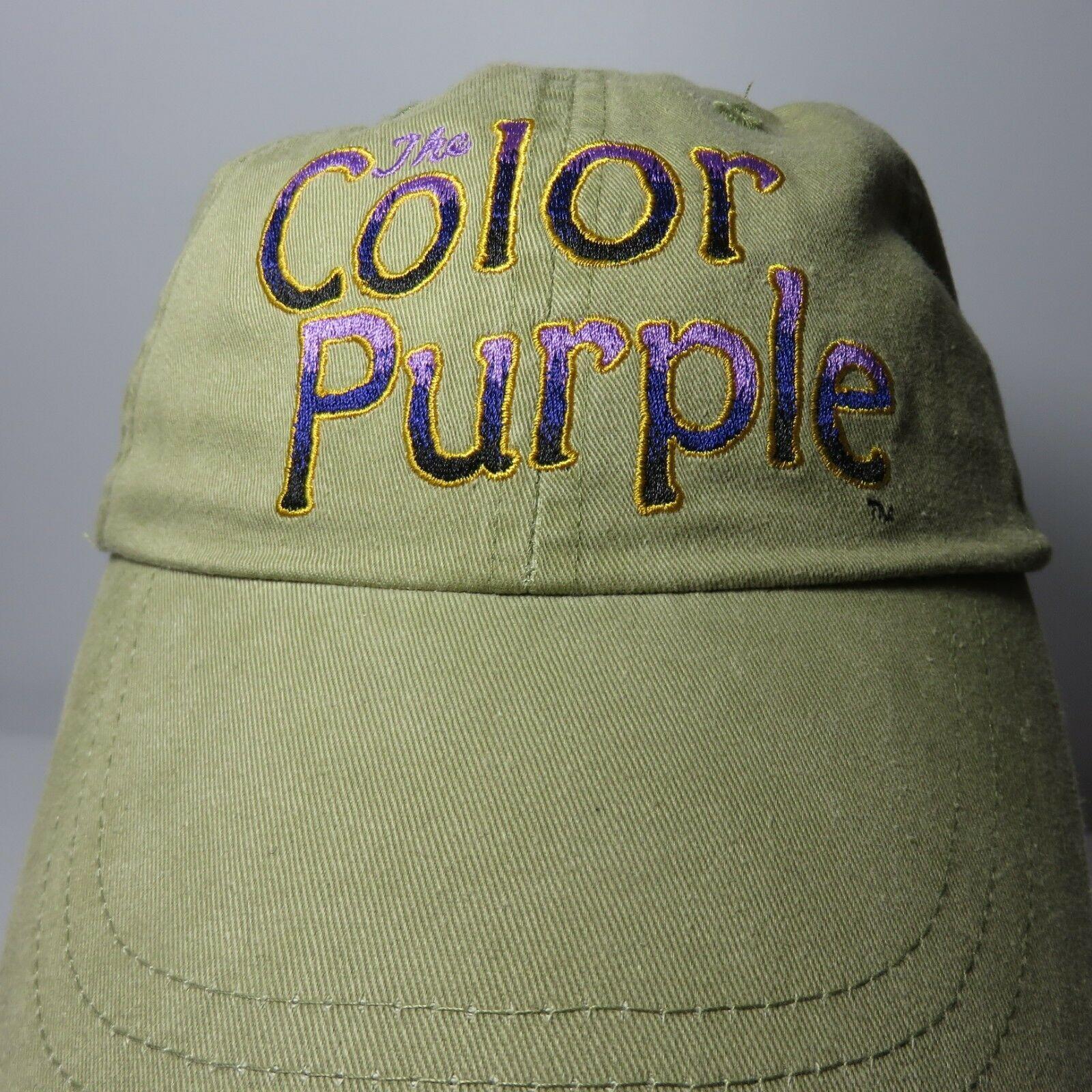 New The Color Purple Original 2005 Broadway Show Cap Hat Oprah