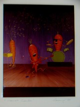 Michael Champe  Signed, Framed Print: Carrot Combo 1989 - $5.90