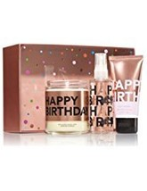 """Bath and Body Works Gift Set """"HAPPY BIRTHDAY"""". Includes Candle, Travel S... - $49.71"""