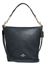 Coach F31507 Abby Duffle In MIDNIGHT Leather MSRP: $398.00 - $227.69