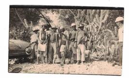 Natives Posing for Photo Snapshot Vintage - $9.66