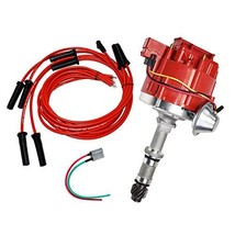 A-Team Performance HEI Distributor, 8.0mm Spark Plug Wires, and Battery-Pigtail