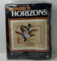 "The Mallards Monarch Horizons, Multi-Stich Crewel Needlepoint Kit 20"" x 24"" - $19.34"