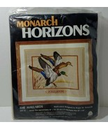 "The Mallards Monarch Horizons, Multi-Stich Crewel Needlepoint Kit 20"" x 24"" - $19.34"
