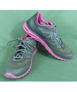 Champion C9 Advanced Light Weight Running Shoes Sneakers SZ 8 Gray Pink ... - $26.68