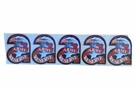 Army Reserve Bald Eagle Ribbon Window Decal Bumper Sticker Vintage USA 5 NEW - $46.58