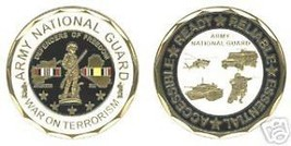 Army National Guard War Terrorism Challenge Coin Medal - $14.89