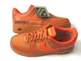 Nike Womens Air Force 1 GTX Gore-Tex Shoes Desert Team Orange Size 8.5 NEW  - $103.94