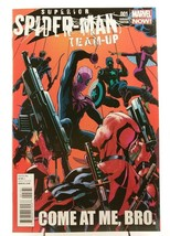 Superior Spider-Man Team-Up 1 Deadpool Variant Cover 2013 Marvel Comics ... - $9.74
