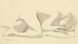 Karel Soucek (1915-1982) - Signed Mid 20th Century Pen and Ink Drawing, ... - $145.70