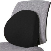 Lorell LLR42170 Ergo Fabric Lumbar Back Support - Black - €38,22 EUR