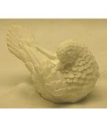 A Santini Italian White Alabaster Marble Dove Love Bird Figurine Italy V... - $21.77