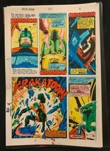 Iron Man #114 1978 Marvel original color guide art Avengers Marvelmania 4 - $41.72
