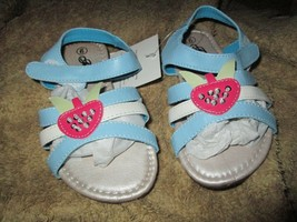 Toddler Girls Blue Gladiator Sandals size 6,7,8,9,10 or 11 Brand New in box - $12.50